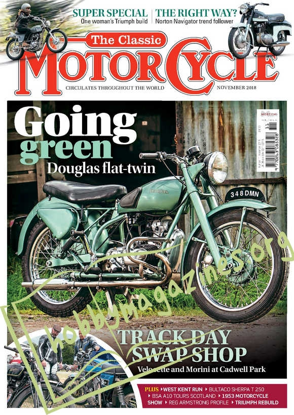 The Classic MotorCycle – November 2018