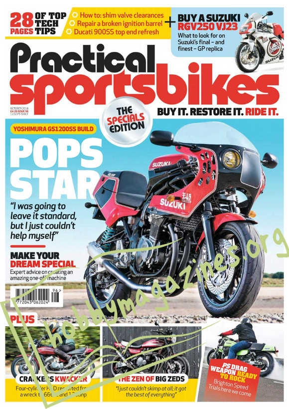 Practical Sportsbikes - October 2018