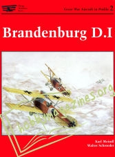Great War Aircraft In Profile 2 - Brandenburg D.I