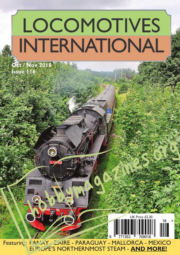Locomotives International 116 - October/November 2018