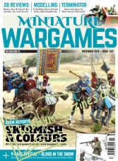 Miniature Wargames – November 2018