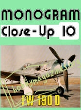 Monogram Close-Up 10 - FW 190D