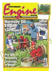 Stationary Engine – December 2018