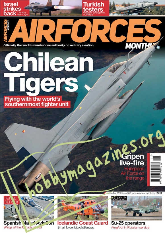 AirForces Monthly – November 2018