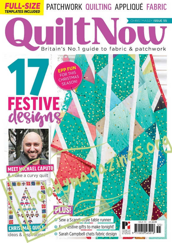 Quilt Now Issue 55