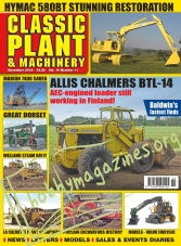 Classic Plant & Machinery - November 2018