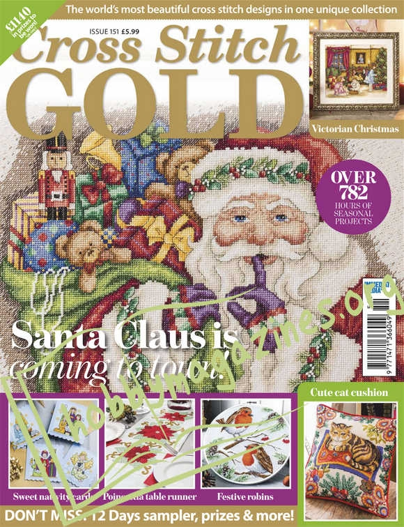 Cross Stitch Gold Issue 151