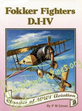 Classics of WWI Aviation 2 - Fokker Fighters D.I-IV