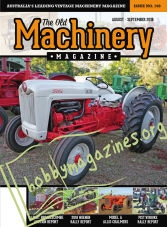 The Old Machinery Magazine – August/September 2018