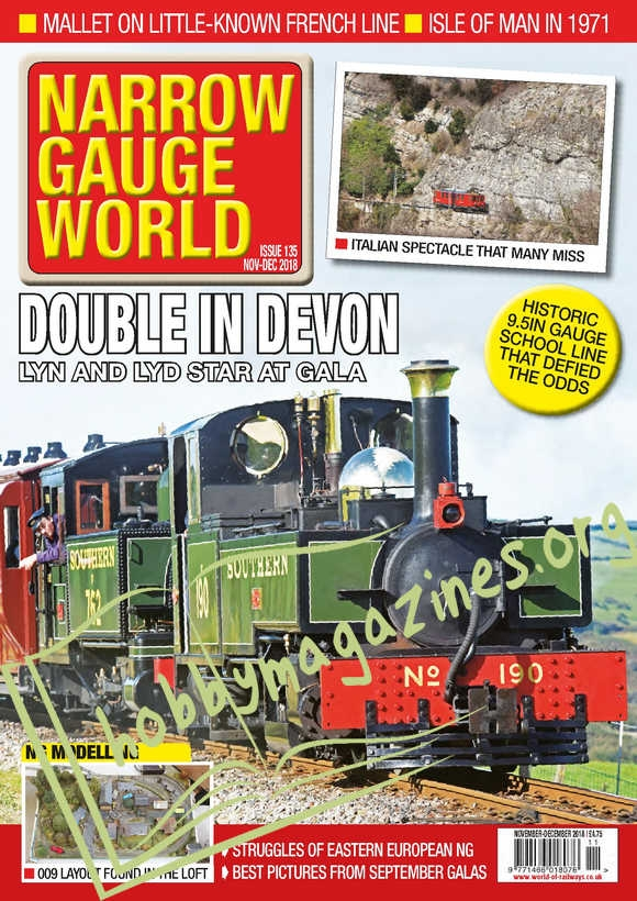 Narrow Gauge World – November/December 2018