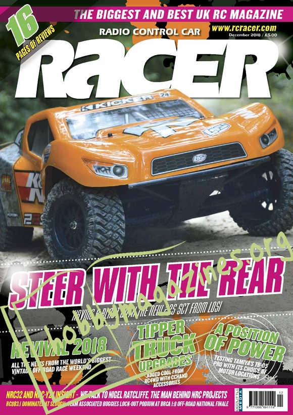 Radio Control Car Racer – December 2018
