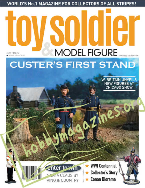Toy Soldier & Model Figure Issue 237, 2018