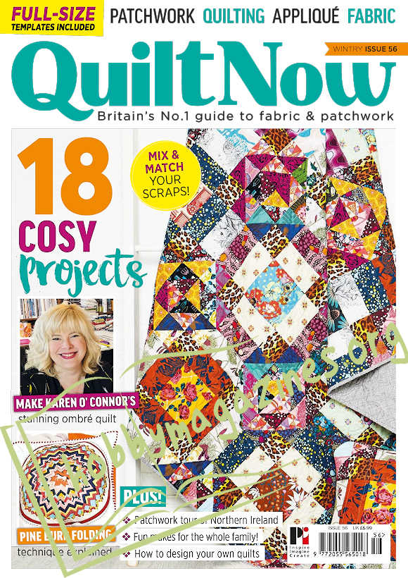 Quilt Now Issue 56
