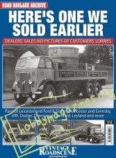 Road Haulage Archive 22 – HERE'S ONE WE SOLD EARLIER