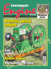 Stationary Engine – February 2019