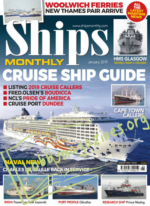 Ships Monthly - January 2019
