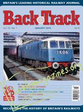 Back Track - January 2019