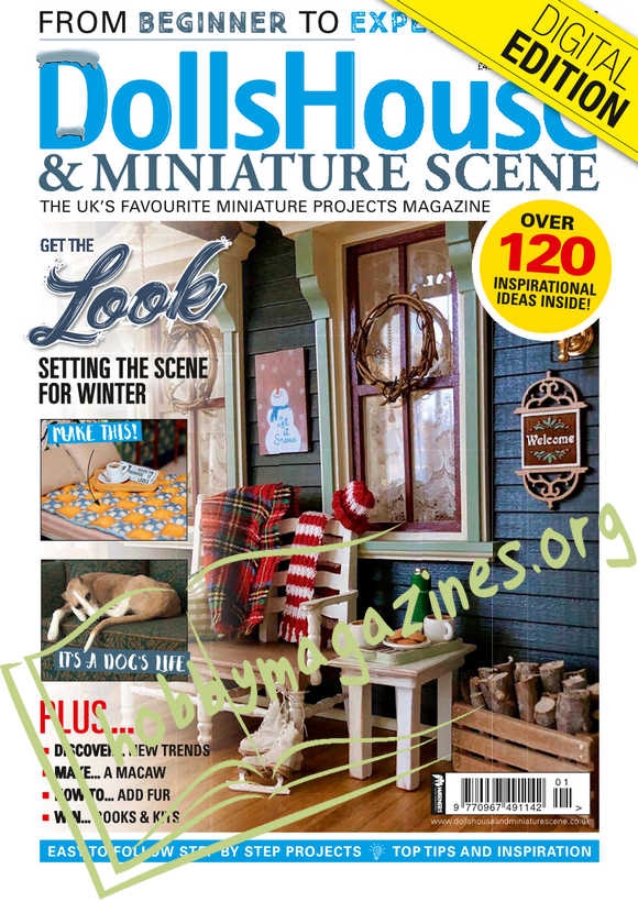 Dolls House & Miniature Scene - January 2019