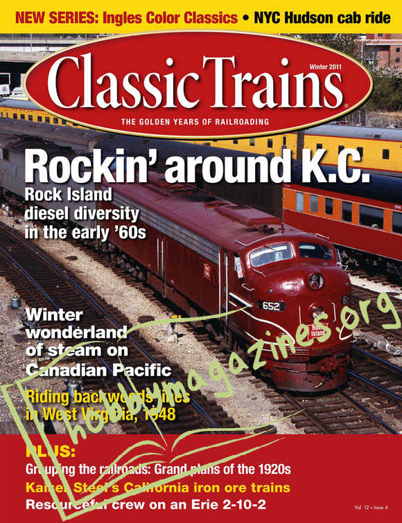 Classic Trains - Winter 2011