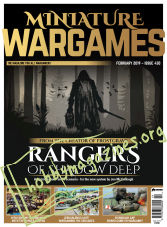 Miniature Wargames – February 2019