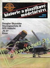 Historie a Plastikove Modelarstvi 1992-04