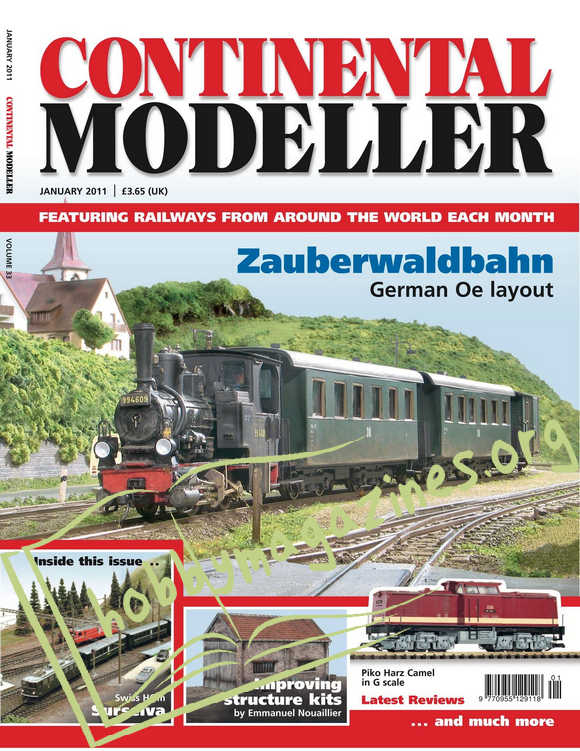 Continental Modeller - January 2011