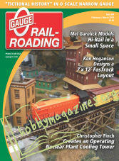0 Gauge Railroading - February/March 2019