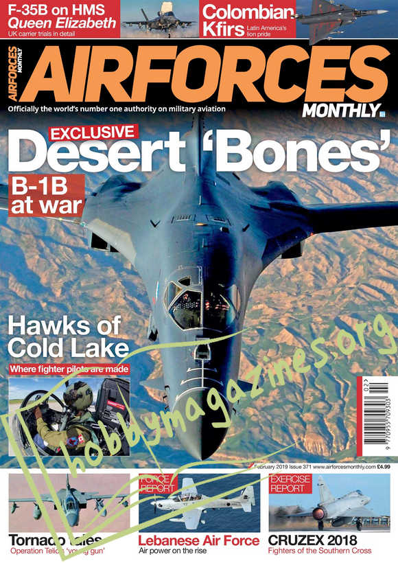 AirForces Monthly - February 2019