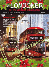 The Londoner Issue 23 - December/January 2019