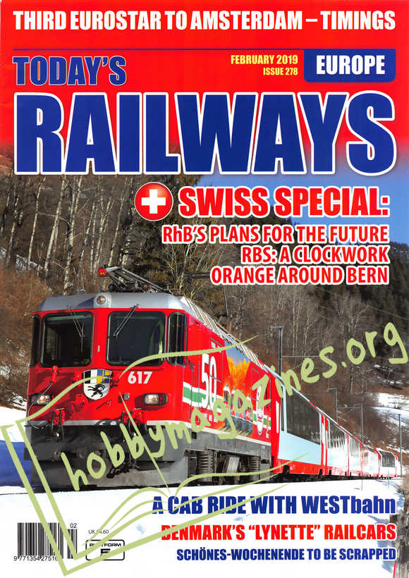 Today's Railways Europe - February 2019