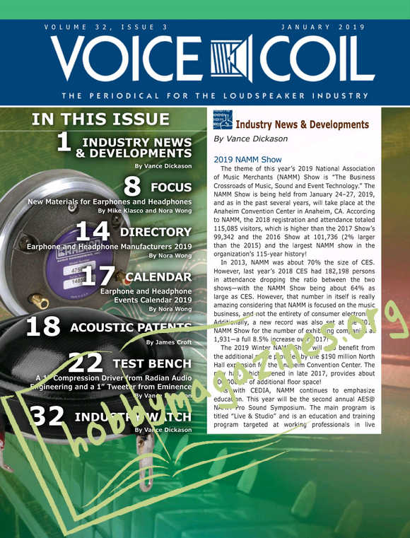 Voice Coil - January 2019