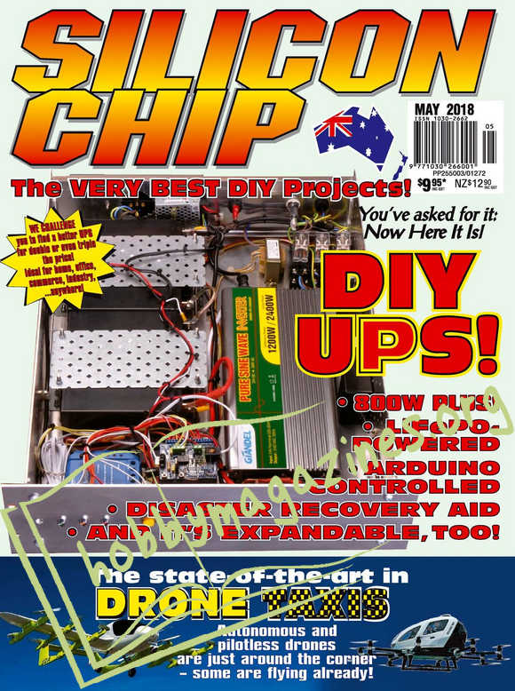 Silicon Chip - May 2018