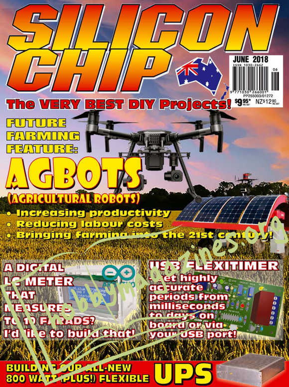 Silicon Chip - June 2018