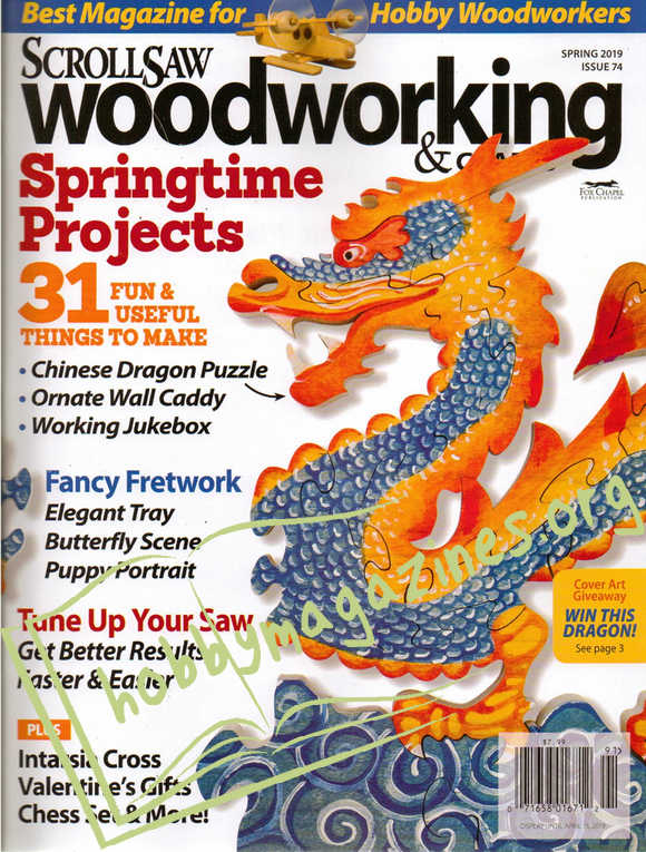 ScrollSaw Woodworking and Crafts - Spring 2019