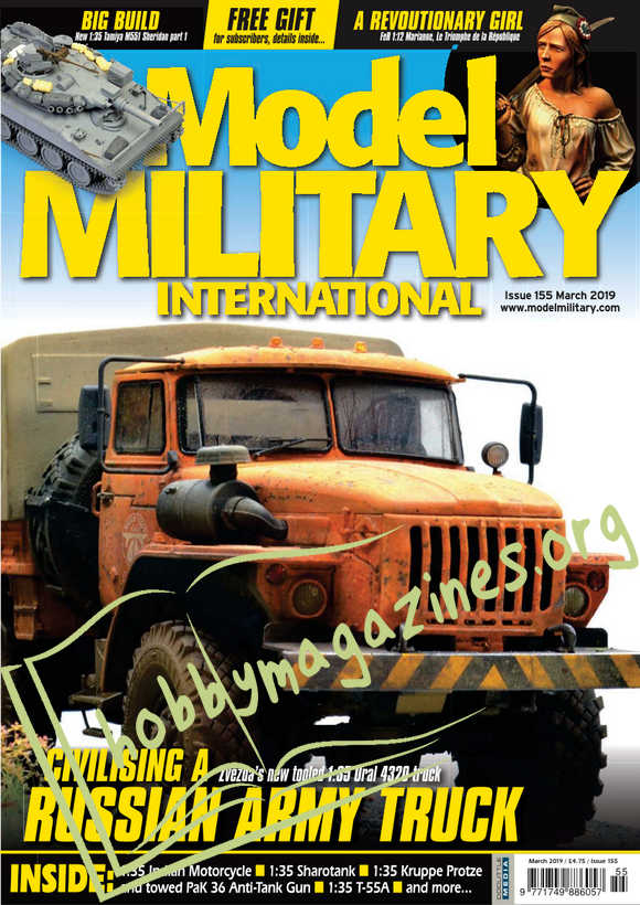 Model Military International Issue 155 - March 2019