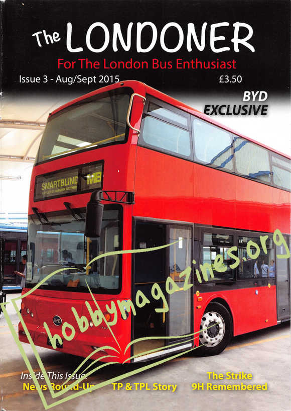 The Londoner Issue 03 - August/Serptember 2015