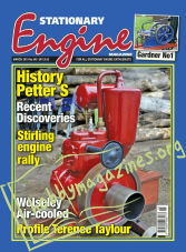 Stationary Engine - March 2019