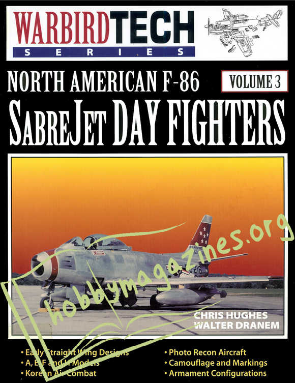 Warbird Tech 003 : North American F-86 Sabre Jet Day Fighters