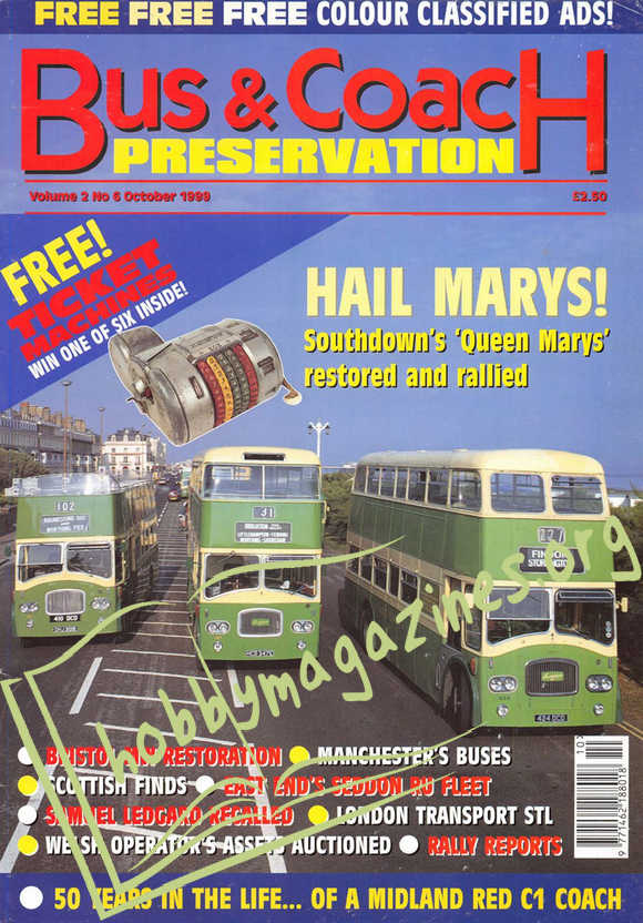 Bus & Coach Preservation - October 1999