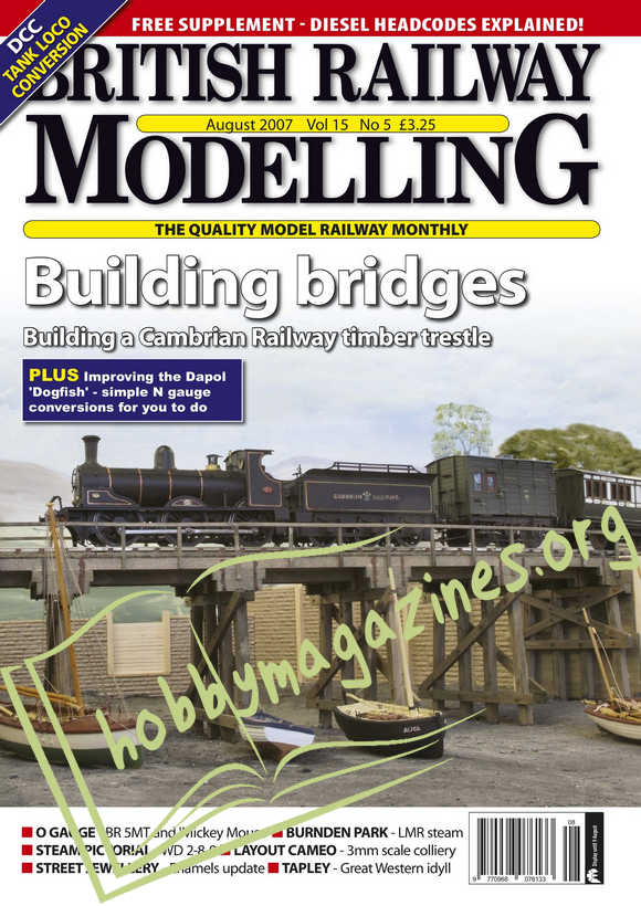 British Railway Modelling - August 2007