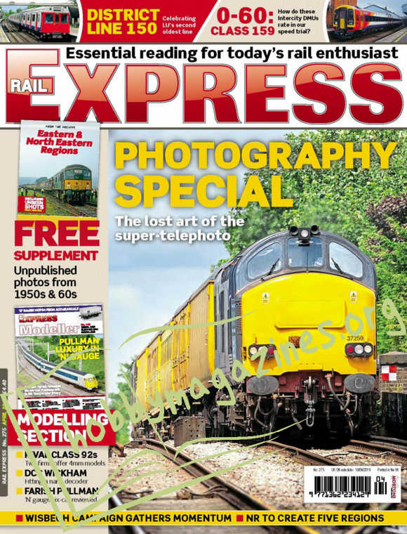 Rail Express Issue 275 - April 2019