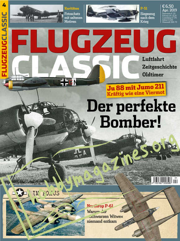 Flugzeug Classic - April 2019