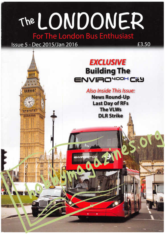 The Londoner Issue 5 - December/January 2016