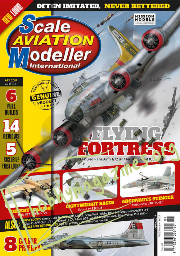 Scale Aviation Modeller International - April 2019
