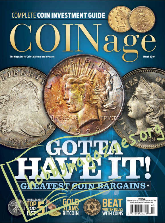 COINage - March 2019