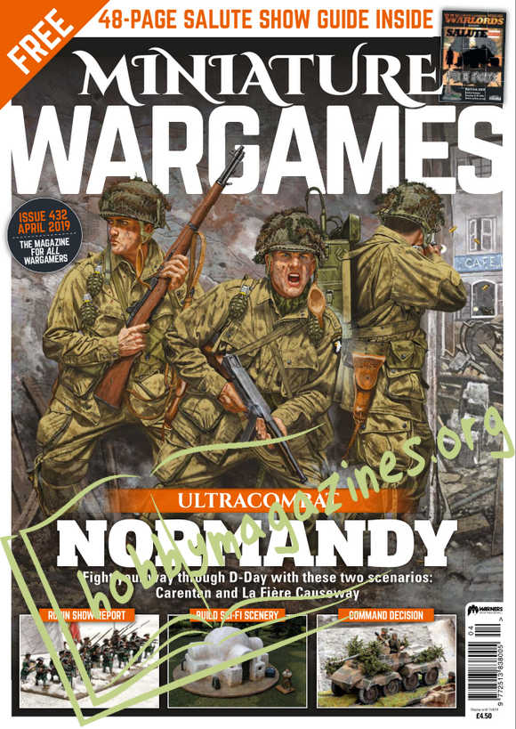 Miniature Wargames - April 2019