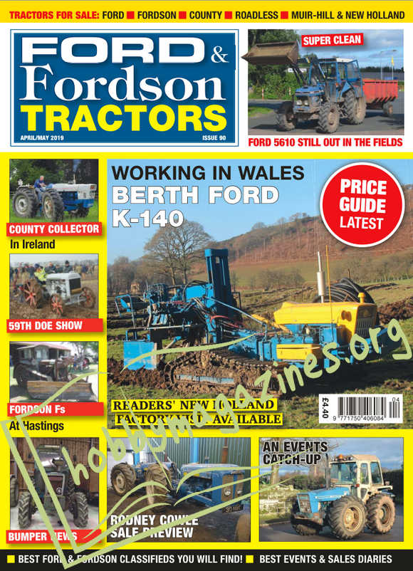 Ford & Fordson Tractors - April-May 2019