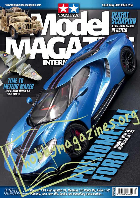 Tamiya Model Magazine International Issue 283 May 2019