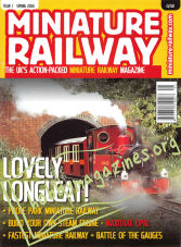Miniature Railway Issue 01 - Spring 2006