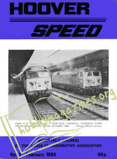 Hoover Speed Issue 01 February 1984